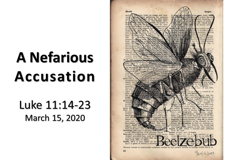 A Nefarious Accusation
